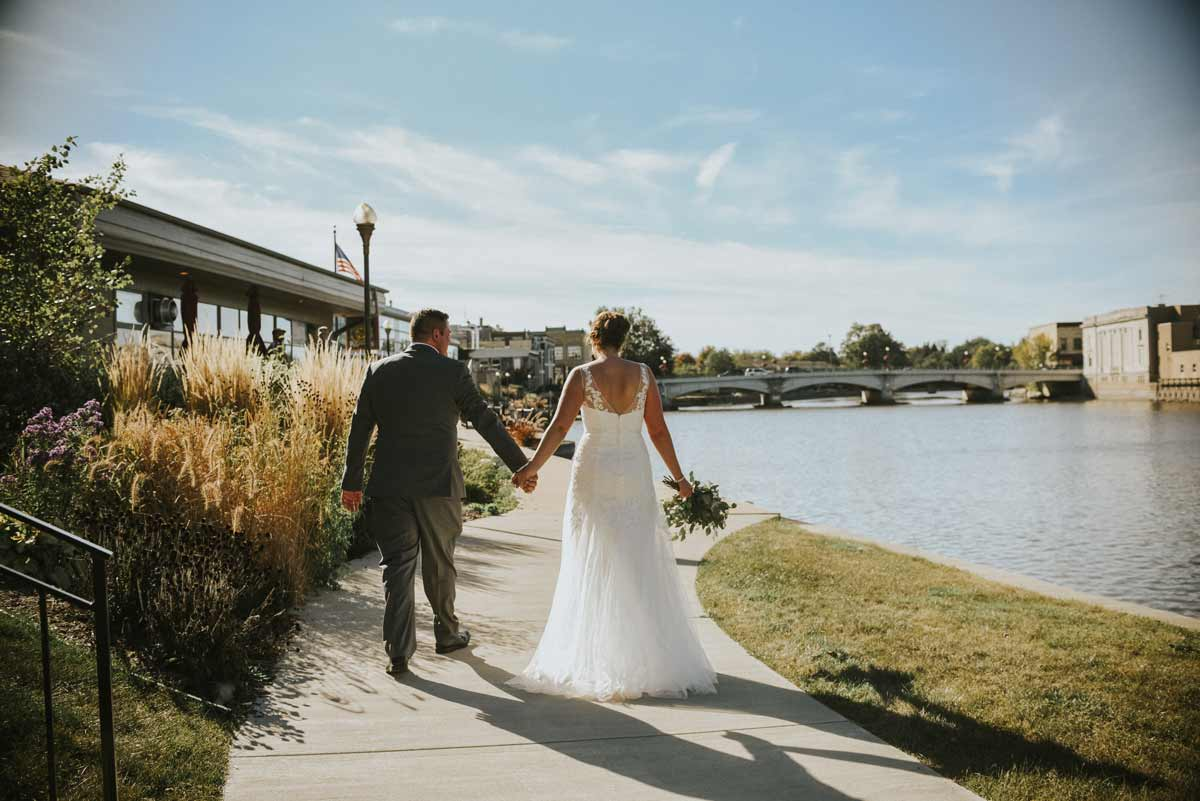 River Walk Wedding Fort Atkinson Club
