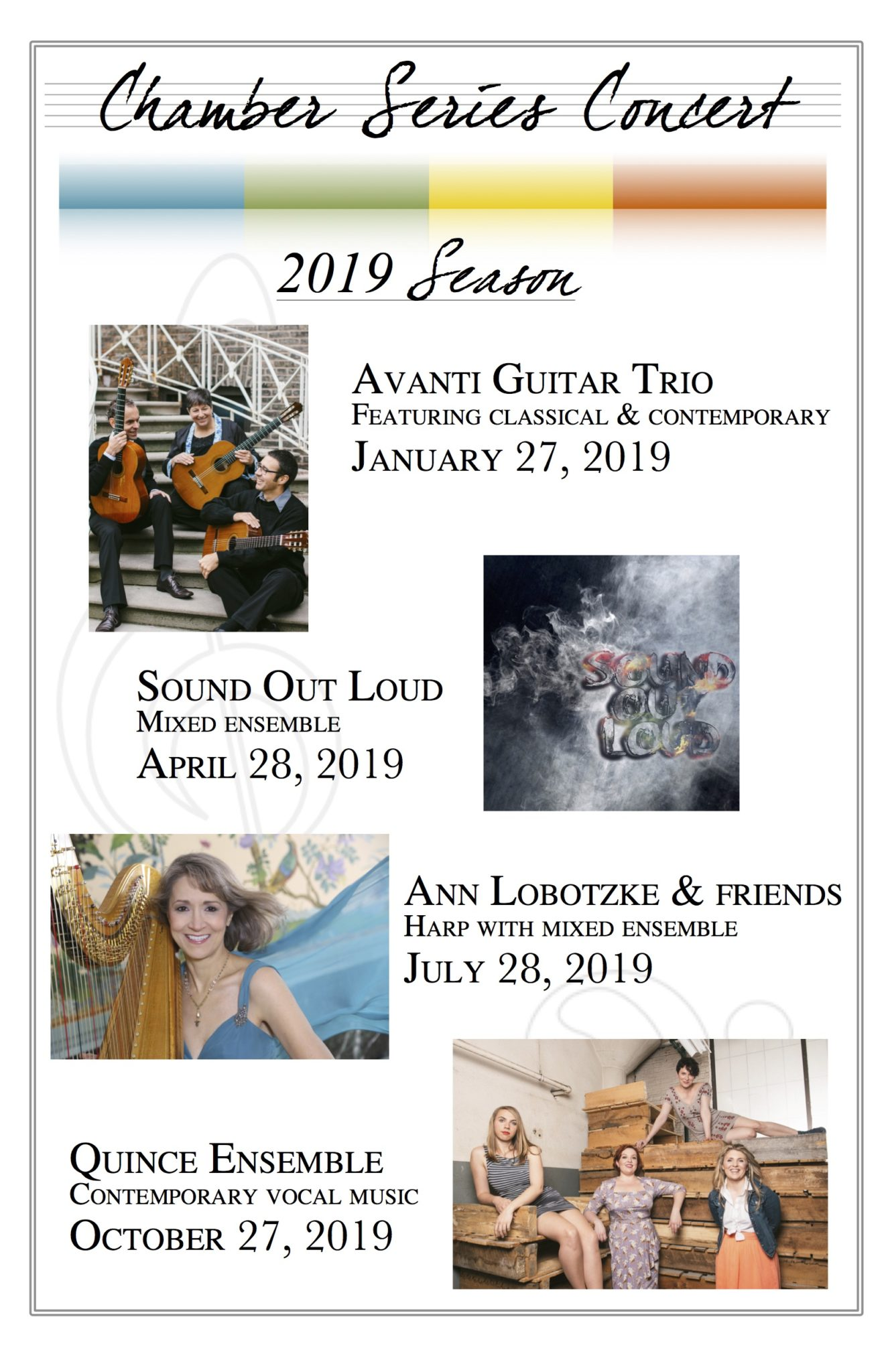 2019 Chamber Series Concerts