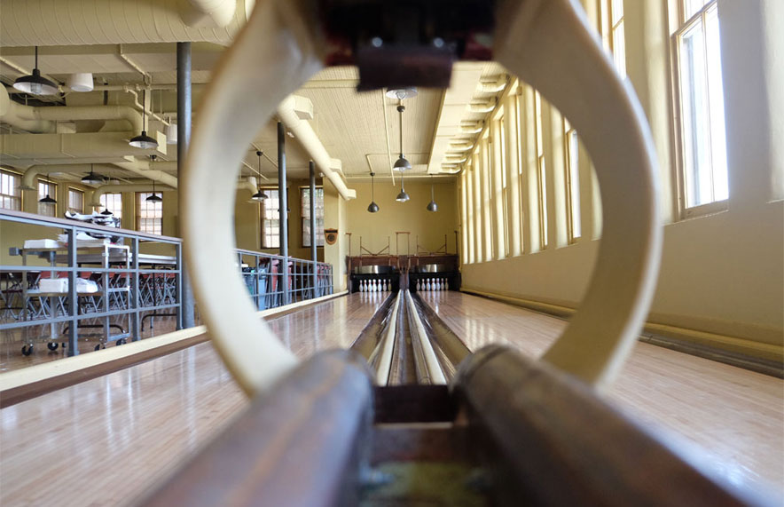Vintage Bowling Alley - The Fort Atkinson Club